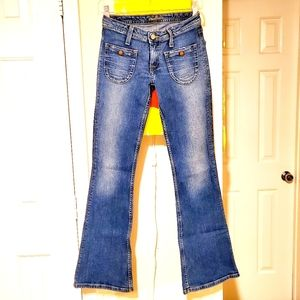 Hudson Jeans   Low-Rise Flare Jean   25